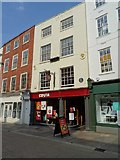 SO8554 : Costa Coffee on Worcester High Street by Philip Halling
