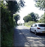 J3633 : Carnacaville Road (B180) west of St Joseph's  Primary School by Eric Jones
