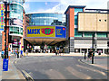 SJ8398 : Arndale Centre, The Bridge Over Market Street by David Dixon