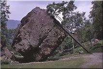 NY2516 : The Bowder Stone 1968 by Jim Barton