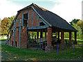 SO9568 : Avoncroft Museum - granary by Chris Allen