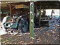 SO9568 : Avoncroft Museum - rack saw by Chris Allen