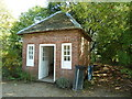 SO9568 : Avoncroft Museum - earth closet by Chris Allen