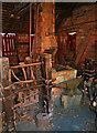 SO9568 : Avoncroft Museum - nailshop by Chris Allen
