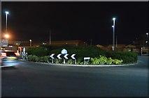 SU6400 : Roundabout, A3 by N Chadwick