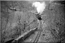 SH6441 : AGM Special (no.1) approaches Tan y Bwlch by Martin Tester