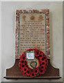 TM4486 : Ellough WW1 War Memorial by Adrian S Pye
