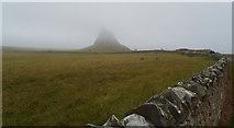NU1341 : Lindisfarne Castle by habiloid