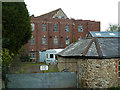 SY2998 : Former mill, Axminster by Chris Allen
