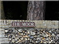 TG1022 : The Moor sign by Geographer