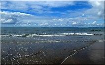 SH5630 : Shoreline on Harlech Beach by DS Pugh