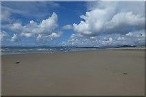 SH5631 : Across Harlech Beach by DS Pugh