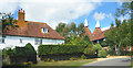 TQ8818 : Float Farm and Oast House by Des Blenkinsopp
