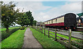 NZ9208 : Railway carriage accommodation by Trevor Littlewood