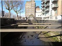 TQ3078 : White Hart Dock, Albert Embankment by Robin Sones