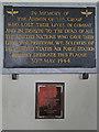 TL9778 : USAAF Knettishall Memorial in Coney Weston church by Adrian S Pye