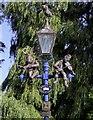 SP2054 : A heritage street lamp on Waterside by Steve Daniels