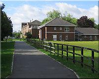 TL4259 : Cambridge University Vet School by John Sutton