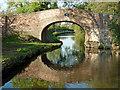 SJ9312 : Otherton Lane Bridge south of Penkridge in Staffordshire by Roger  Kidd