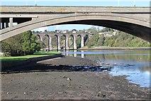 NT9953 : Royal Border Bridge by Graeme Yuill