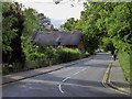 SP1854 : Cottage Lane passing Anne Hathaway's Cottage by Steve Daniels