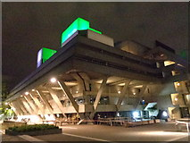 TQ3180 : National Theatre, South Bank by Robin Sones