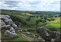 SD8964 : Path descending from Malham Cove to Malham Beck by habiloid