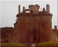 NY0265 : Caerlaverock Castle by John Baker