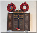 TG3500 : Langley (Norfolk) Triptych War Memorial by Adrian S Pye