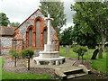 TG5104 : Cross of Sacrifice in Gorleston cemetery by Adrian S Pye