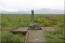 NX4355 : The Martyr's Stake, Wigtown by Billy McCrorie