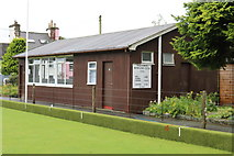 NX4355 : Wigtown Bowling Club by Billy McCrorie