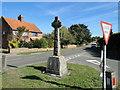 TM3797 : Hales and Heckingham War Memorial by Adrian S Pye