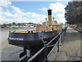 SS4527 : Steamship Freshspring, Bideford  by Chris Allen
