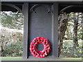 TG1506 : Little Melton WW1 Memorial in the lychgate by Adrian S Pye