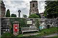 SJ8461 : King George VI Post Box (GR) , Astbury by Brian Deegan
