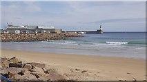 NK0066 : Beach, Fraserburgh Bay by Richard Webb
