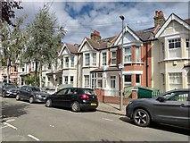 TQ2572 : Clonmore Street - Southfields by James Emmans