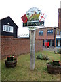 TL4501 : Epping Town sign by Geographer