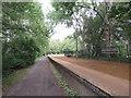ST4157 : Winscombe former railway station by Malc McDonald