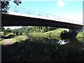 SE3419 : Neil Fox Way bridge over the river Calder by Stephen Craven