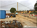TA0225 : Flood defence works, Hessle foreshore by Paul Harrop