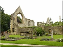 SK7053 : Ruins of the Archbishop's Palace by Alan Murray-Rust