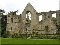 SK7053 : Archbishop's Palace ruins, Southwell by Alan Murray-Rust