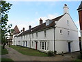 SY6790 : Cottages at Mansell Square, Poundbury by Malc McDonald