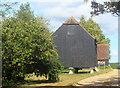 SU7903 : Granary at Easton Farm by Des Blenkinsopp