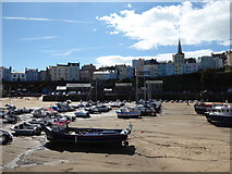 SN1300 : Tenby harbour by Jeremy Bolwell