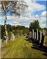 NS5572 : New Kilpatrick Cemetery by Richard Sutcliffe