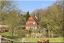 TQ5637 : Ramslye Old Farmhouse by N Chadwick