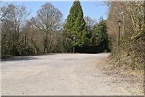 TQ5538 : High Rocks Car Park by N Chadwick